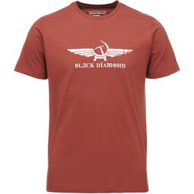 Black Diamond Perestroika Maglietta a maniche corte Uomo rosso